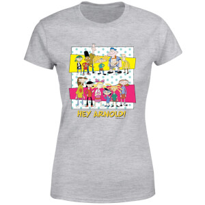 Hey Arnold Guys & Girls Women's T-Shirt - Grijs