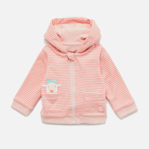 Joules Babies' Tenley Zip Sweatshirt - Pink Sheep