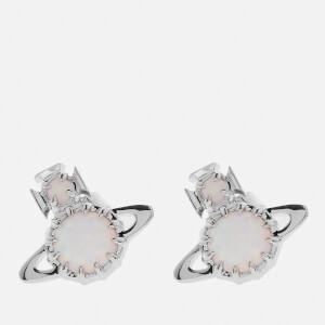 Vivienne Westwood Women's Latifah Earrings - Rhodium White