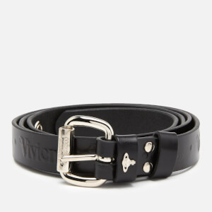 Vivienne Westwood Women's Carolina Belt - Rhodium Black