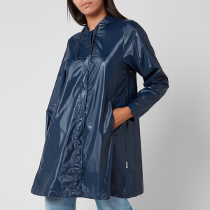 RAINS Women's Aline Jacket - Shiny Blue