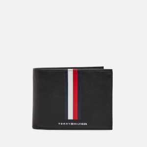 Tommy Hilfiger Men's Metro Credit Card & Coin Wallet - Black