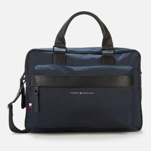 Tommy Hilfiger Men's Elevated Nylon Computer Bag - Desert Sky