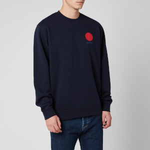 Edwin Men's Japanese Sun Sweatshirt - Navy Blazer