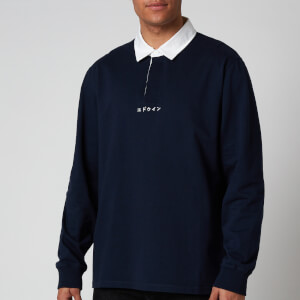 Edwin Men's Front Five Polo Shirt - Navy Blazer