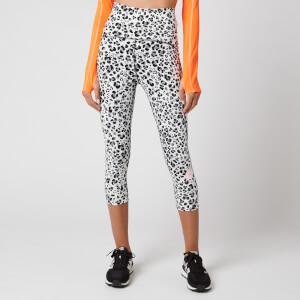 adidas by Stella McCartney Women's Truepure 3/4 Length Tights - White/Black/Ash