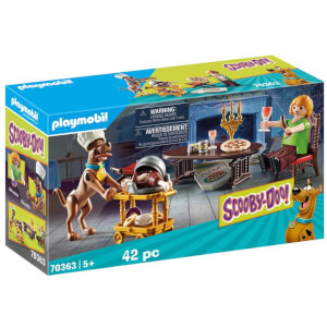 Playmobil Scooby Doo! Dinner with Scooby and Shaggy (70363)