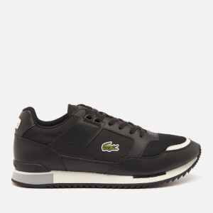 Lacoste Men's Partner Piste 01201 Running Style Trainers - Black/Grey
