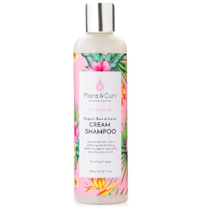 Flora & Curl Organic Rose & Honey Cream Shampoo 300ml