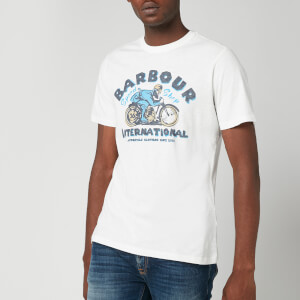 Barbour International Men's Device T-Shirt - Light Grey
