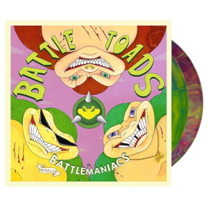 Battletoads in Battlemaniacs Video Game Soundtrack LP