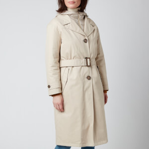 Herno Women's Hooded Trench Coat - Chantilly