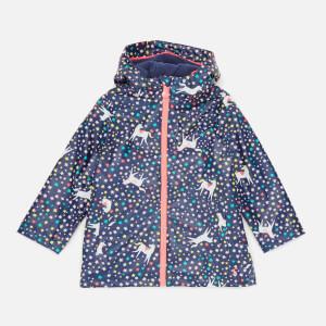 Joules Kids' Raindance Coat - Blue
