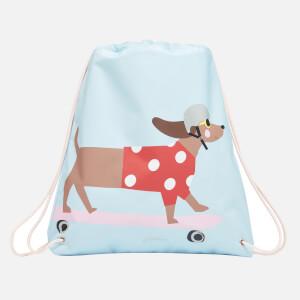 Joules Kids' Active Drawstring Bag - Blue Dog