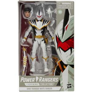 Hasbro Power Rangers Lightning Collection White Ranger 6 Inch Action Figure - Walgreens Exclusive