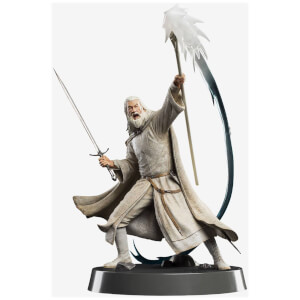 Weta Collectibles The Lord of the Rings Figures of Fandom PVC Statue Gandalf the White 23 cm