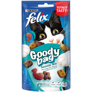 Felix Goody Bag Cat Treats - Seaside Mix - 60g