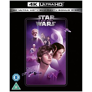 Star Wars - Episode IV - A New Hope - 4K Ultra HD (Includes 2D Blu-ray)