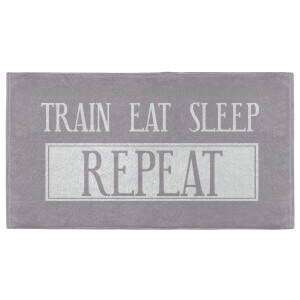 Train Eat Sleep Repeat Fitness Towel