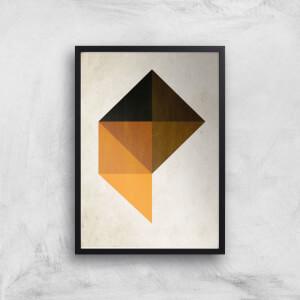 Kubistika Trapez Giclee Art Print