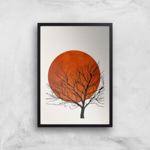 Kubistika Warm Winter Giclee Art Print