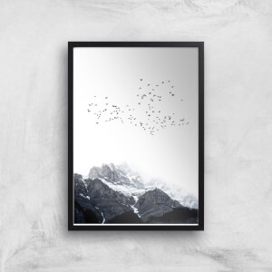 Kubistika The Mountains Giclee Art Print
