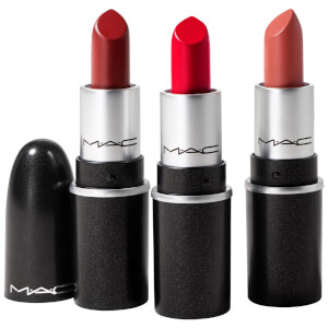 MAC Fireworked Like a Charm Mini Lipstick Kit - Red