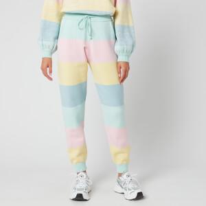 Olivia Rubin Women's Tilda Knitted Joggers - Pastel Stripe