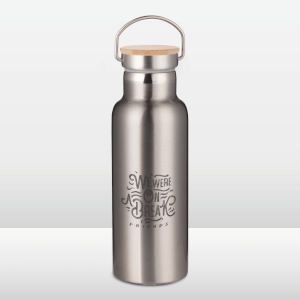 Friends We Were On A Break Sketch Portable Insulated Water Bottle - Steel