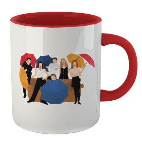 Friends The Gang Mug - White/Red