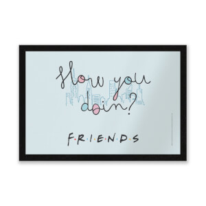 Friends How You Doin Entrance Mat