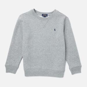 Polo Ralph Lauren Boys' Crew Neck Sweatshirt - Grey