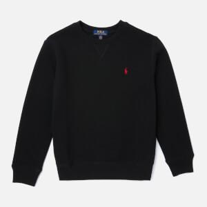 Polo Ralph Lauren Boys' Crew Neck Sweatshirt - Black