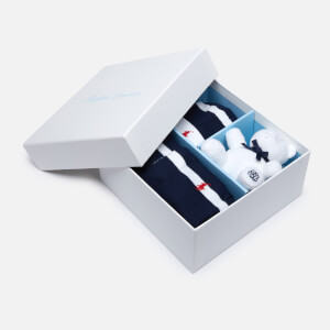 Polo Ralph Lauren Boys' Sleep Suit and Teddy Box Set - Navy