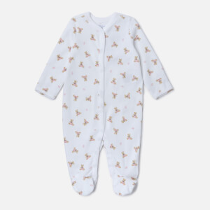 Polo Ralph Lauren Boys' All Over Printed Sleep Suit - White