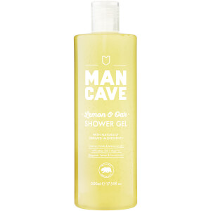 ManCave Lemon & Oak Shower Gel 500ml