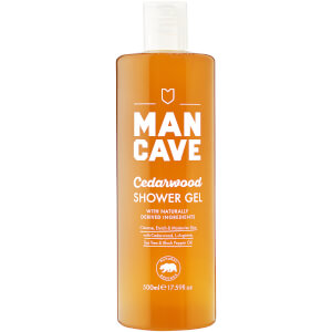 ManCave Cedarwood Shower Gel 500ml