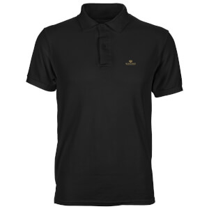 DC Batman Wayne Industries Unisex Polo - Black