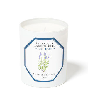 Carrière Frères Scented Candle Lavender - Lavandula Angustifolia - 185 g