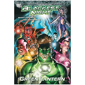 DC Comics Graphic Novel Green Lantern Blackest Night
