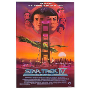 Star Trek Graphic Novels Voyage Home Poster