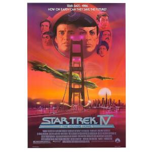 Star Trek Graphic Novels Voyage Home Poster