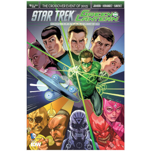 Star Trek Green Lantern The Spectrum War Special 01