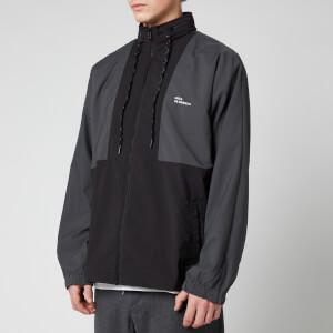 Drôle de Monsieur Men's Nfpm Windbreaker Jacket - Black