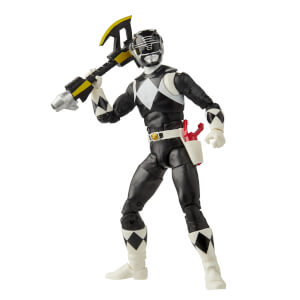 Hasbro Power Rangers Lightning Collection Mighty Morphin Black Ranger Action Figure