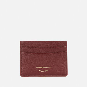 Emporio Armani Women's Card Holder - Grape