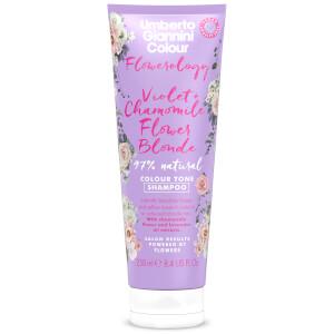Umberto Giannini Flowerology Violet + Chamomile Blonde Shampoo 250ml