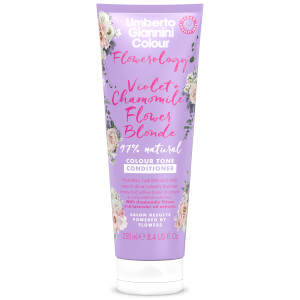 Umberto Giannini Flowerology Violet + Chamomile Blonde Conditioner 250ml