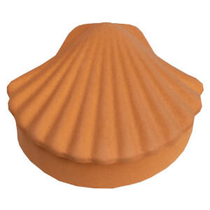 Los Objetos Decorativos Seashell Box - Amber