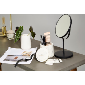 Grey Swivel Table Mirror